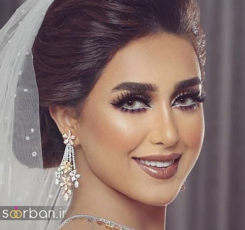 جدیدترین میکاپ عروس ۹۷ ؛ آرایش عروس ۲۰۱۸