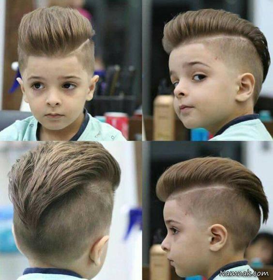 عکس مدل موی بچه گانه پسرانه