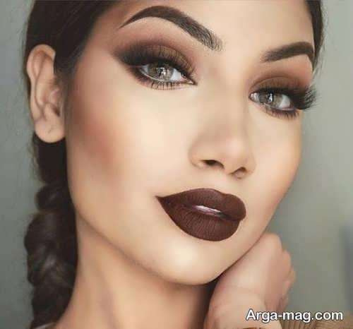 مدل آرایش چشم زیبا و اسموکی