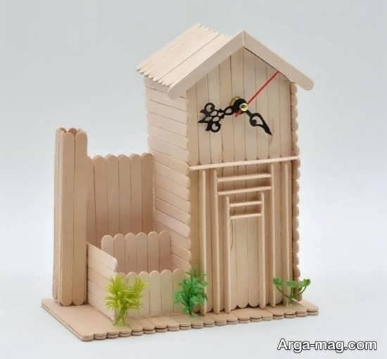 کاردستی با چوب زیبا